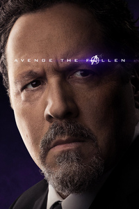 Happy Hogan Avengers Endgame 2019 Poster