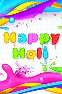240x400 Happy Holi HD