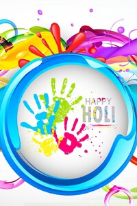 240x400 Happy Holi Images