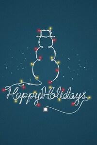 1242x2688 Happy Holidays