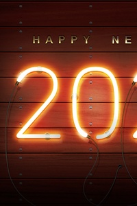 1080x2160 Happy New Year 2020