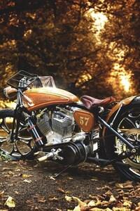 1125x2436 Harley Davidson Motorcycle
