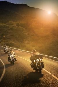 Harley Davidson Riders 8k