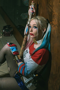 720x1280 Harley Quinn 2020 Cosplay