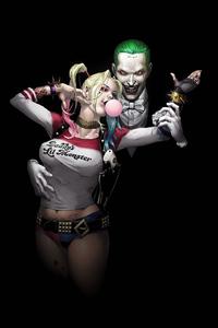 Harley Quinn And Joker Dance