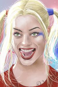 Harley Quinn Artwork 5k