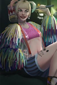 1242x2688 Harley Quinn Character Fantasy