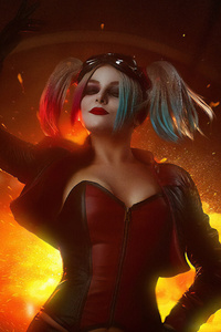 Harley Quinn Cosplay 4k 2019