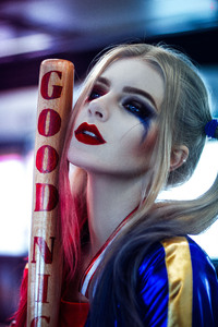 Harley Quinn Cosplay Portrait