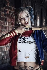 1125x2436 Harley Quinn Cosplays
