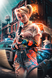 Harley Quinn Day Night 4k