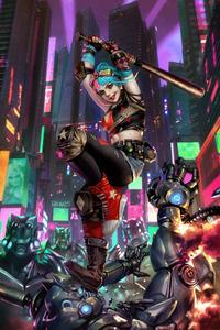 Harley Quinn Dc Comics Future State 4k