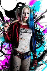 1242x2688 Harley Quinn HD