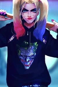 Harley Quinn Hoodie With Style 4k