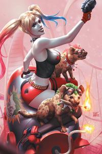Harley Quinn Hyenas