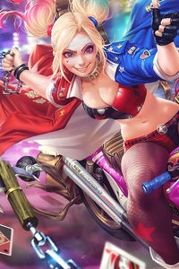 Harley Quinn In Toyko
