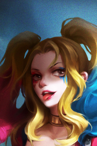 480x800 Harley Quinn Innocent Girl