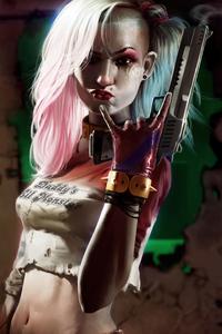 2160x3840 Harley Quinn Jailbreak 4k