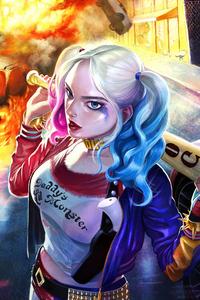 Harley Quinn Mad
