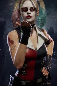 240x320 Harley Quinn Mortal Kombat 11