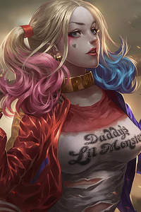 Harley Quinn Newart Hd