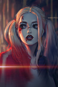 Harley Quinn Sketch Artwork