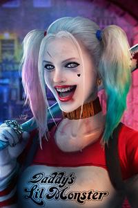 Harley Quinn Smile Art