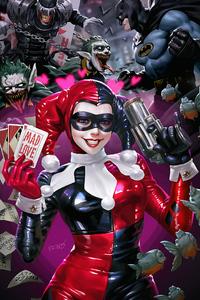 Harley Quinn Smiling
