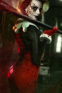 540x960 Harley Quinn The Blood Queen
