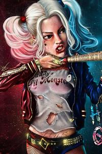 Harley Quinn4k Newart