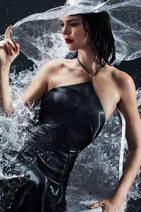 Harpers Bazaar Kendall Jenner 2018 4k