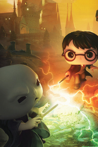 Harry Potter Dc Funkoverse 4k