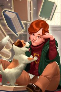 640x960 Harry Potter Hogwarts Mystery Art 5k