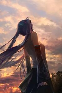 Hatsune Miku Vocaloid 4k