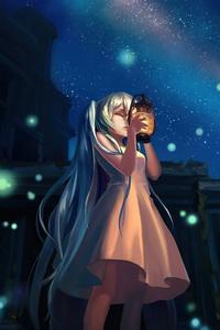Hatsune Miku Vocaloid Anime Girl Art 4k