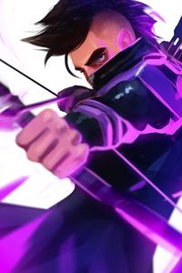 Hawkeye Avengers Endgame Art
