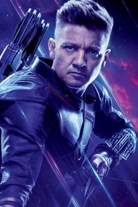 Hawkeye In Avengers Endgame Poster
