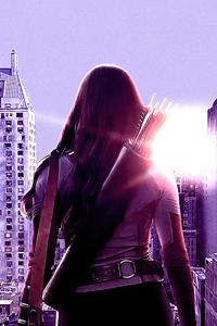 1080x2160 Hawkeye Kate Bishop Tv Series 2021