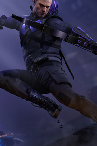 1080x2160 Hawkeye Marvels Avengers 2020