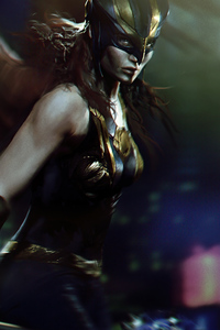 1080x2280 Hawkgirl