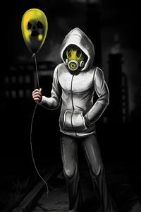 Hazard Balloon Hoodie 4k