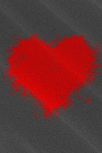 1440x2560 Heart Texture Background 4k