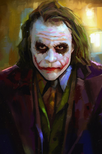 Heath Ledger As Joker 4k