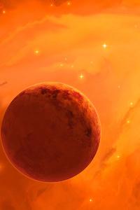 1080x1920 Heavens On Fire 4k