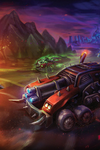 640x960 Heavy Metal Machines 2021 Game
