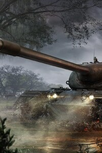 1080x2160 Heavy Tank World Of Tanks