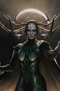 Hela The Goddess Of Death Artwork