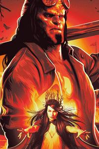 1080x2280 Hellboy 2019