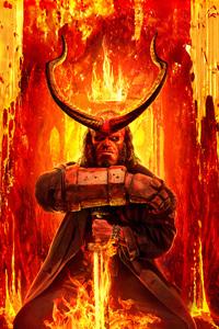 640x960 Hellboy 2019 8k