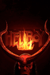 Hellboy 2019 Movie Logo